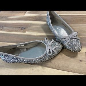 Joe Fresh Girls Size 11 Sparkly Flats